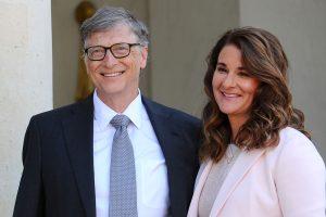 Bill and Melinda Gates French